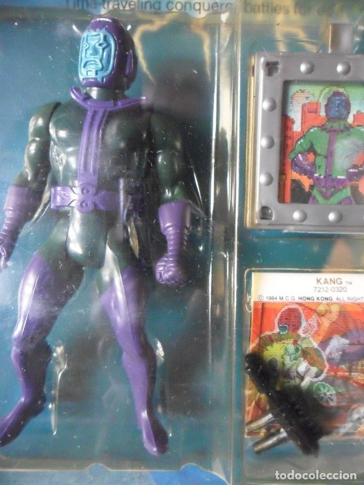 Figuras y Muñecos Secret Wars: MARVEL SECRET WARS KANG EN BLISTER MATTEL 1984 - Foto 2 - 148333046