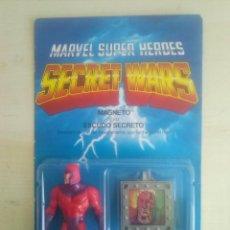 Figuras y Muñecos Secret Wars: MAGNETO SECRET WARS MARVEL SUPER HEROES BLISTER SIN ABRIR ESPAÑOL. Lote 151500594