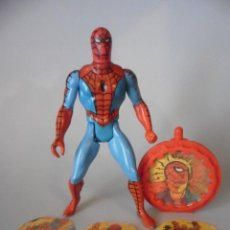 Figuras y Muñecos Secret Wars: MARVEL SECRET WARS SPIDERMAN COMPLETO MATTEL FRANCE 1984. Lote 154420950