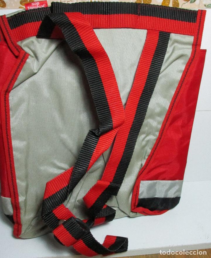 Figuras y Muñecos Secret Wars: Antigua mochila escolar, cartera, bolsa, SECRET WARS, CAPITÁN AMÉRICA, MARVEL, JOSMAN 1985 - Foto 4 - 161022490