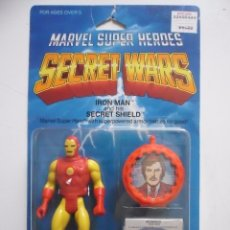 Figuras y Muñecos Secret Wars: MARVEL SECRET WARS IRON MAN EN BLISTER MATTEL 1984. Lote 172214574