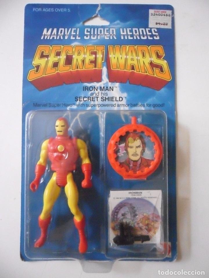Figuras y Muñecos Secret Wars: MARVEL SECRET WARS IRON MAN EN BLISTER MATTEL 1984 - Foto 2 - 172214574
