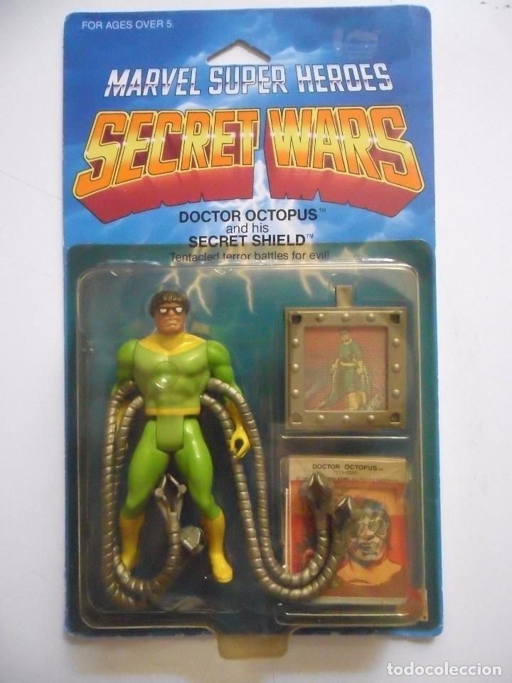 MARVEL SECRET WARS DOCTOR OCTOPUS EN BLISTER MATTEL 1984 (Juguetes - Figuras de Acción - Secret Wars)