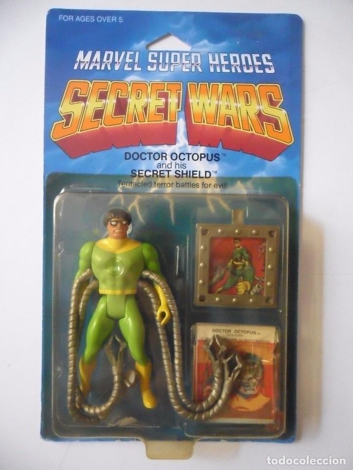 Figuras y Muñecos Secret Wars: MARVEL SECRET WARS DOCTOR OCTOPUS EN BLISTER MATTEL 1984 - Foto 2 - 172214709