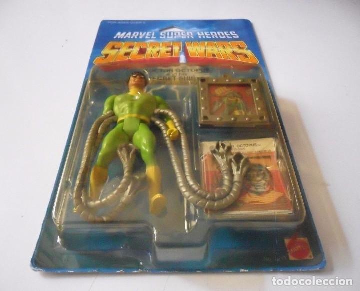 Figuras y Muñecos Secret Wars: MARVEL SECRET WARS DOCTOR OCTOPUS EN BLISTER MATTEL 1984 - Foto 5 - 172214709