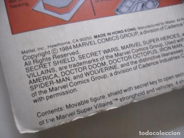 Figuras y Muñecos Secret Wars: MARVEL SECRET WARS DOCTOR OCTOPUS EN BLISTER MATTEL 1984 - Foto 9 - 172214709