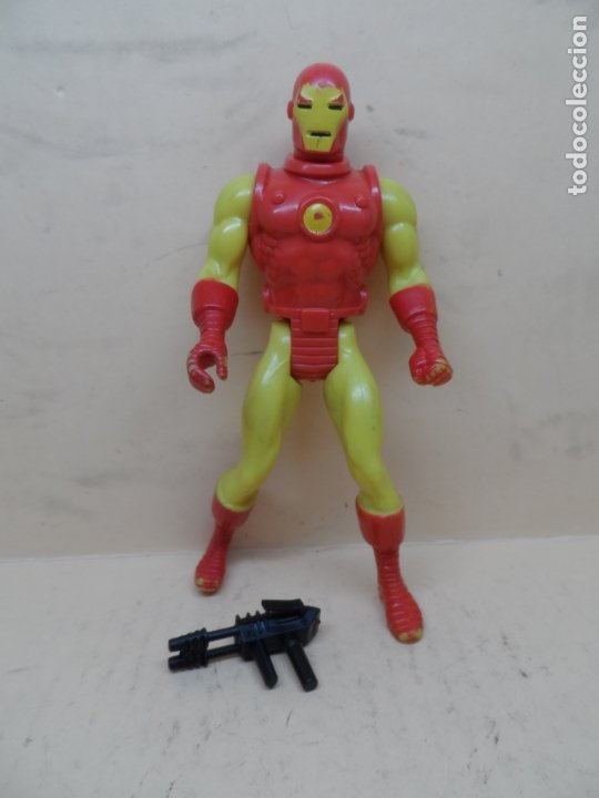 MARVEL SECRET WARS IRON MAN 1984 MATTEL FRANCE (Juguetes - Figuras de Acción - Secret Wars)