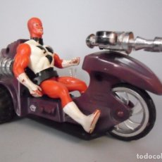 Figuras y Muñecos Secret Wars: ACTION HEROES SPARKING ROCKET CYCLE SECRET WARS BOOTLEG MARCHON INC 1985. Lote 176153260