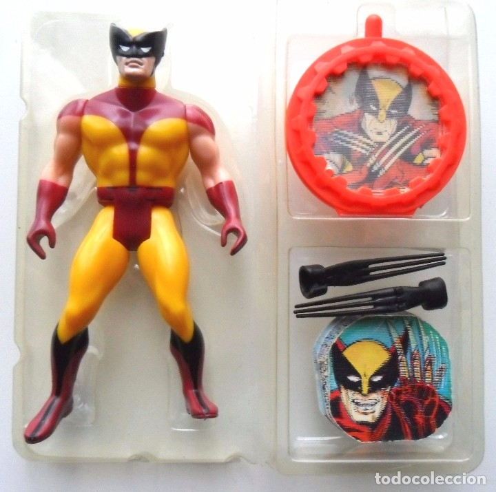 Figuras y Muñecos Secret Wars: MARVEL SECRET WARS WOLVERINE BLACK CLAWS EN BLISTER ABIERTO MATTEL 1984 - Foto 3 - 176154202
