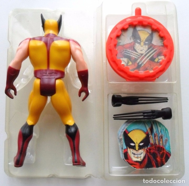 Figuras y Muñecos Secret Wars: MARVEL SECRET WARS WOLVERINE BLACK CLAWS EN BLISTER ABIERTO MATTEL 1984 - Foto 4 - 176154202