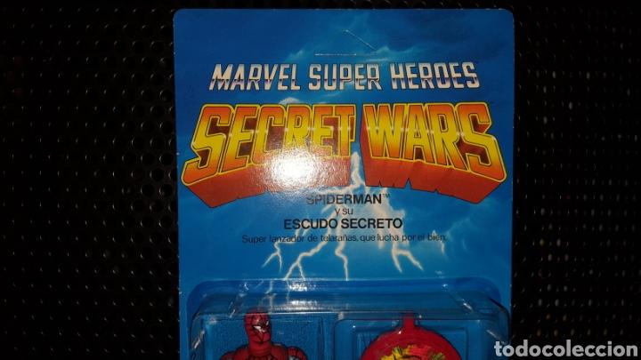 Figuras y Muñecos Secret Wars: Figura - Marvel Super Heroes - Secret Wars - Spider-man - Spiderman - Mattel - Con blister cerrado - Foto 2 - 178933706