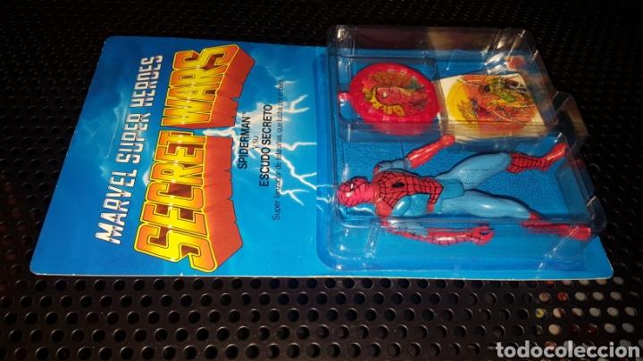 Figuras y Muñecos Secret Wars: Figura - Marvel Super Heroes - Secret Wars - Spider-man - Spiderman - Mattel - Con blister cerrado - Foto 9 - 178933706