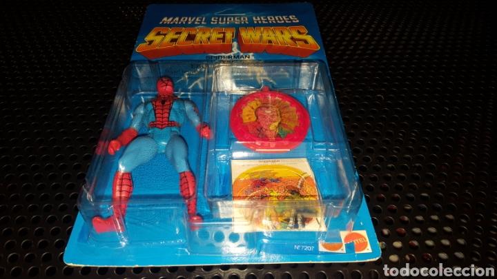 Figuras y Muñecos Secret Wars: Figura - Marvel Super Heroes - Secret Wars - Spider-man - Spiderman - Mattel - Con blister cerrado - Foto 10 - 178933706