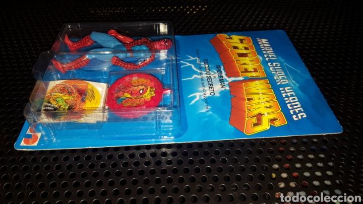 Figuras y Muñecos Secret Wars: Figura - Marvel Super Heroes - Secret Wars - Spider-man - Spiderman - Mattel - Con blister cerrado - Foto 11 - 178933706