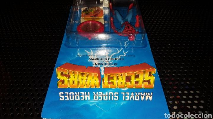 Figuras y Muñecos Secret Wars: Figura - Marvel Super Heroes - Secret Wars - Spider-man - Spiderman - Mattel - Con blister cerrado - Foto 12 - 178933706
