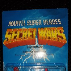 Figuras y Muñecos Secret Wars: FIGURA - MARVEL SUPER HEROES - SECRET WARS - SPIDER-MAN - SPIDERMAN - MATTEL - CON BLISTER CERRADO. Lote 178933706