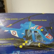 Figuras y Muñecos Secret Wars: LOTE TURBO COPTER Y TORRE DE LA LIBERTAD SECRET WARS BY MARVEL SUPER HEROES. Lote 180022993