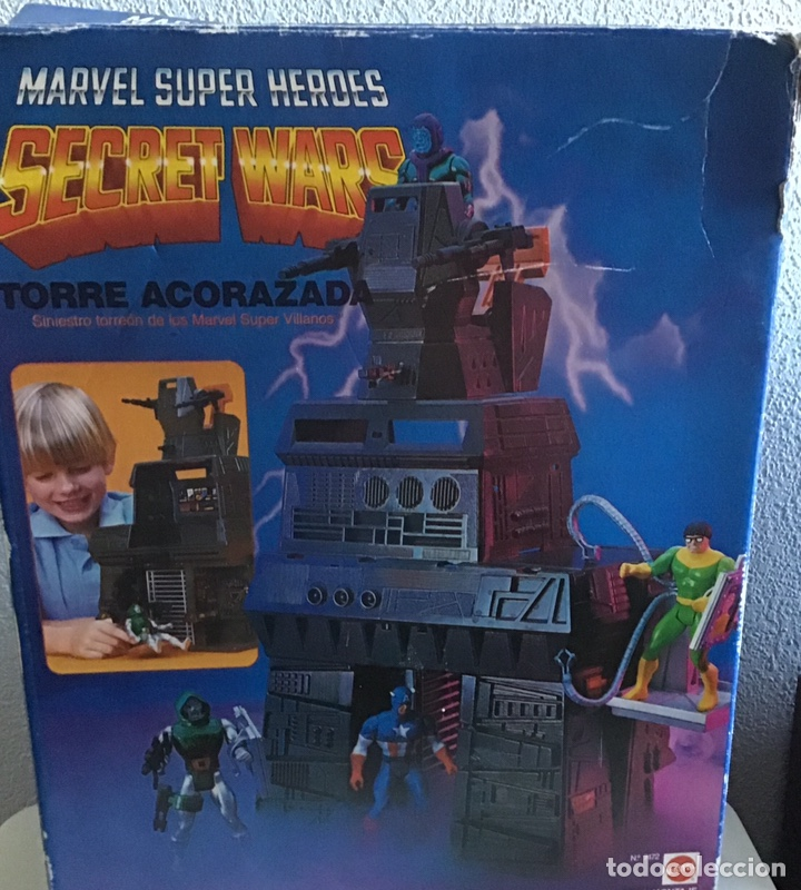TORRE ACORAZADA SECRET WARS EN SU CAJA ORIGINAL 1984 (Juguetes - Figuras de Acción - Secret Wars)