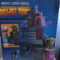 Figuras y Muñecos Secret Wars: TORRE ACORAZADA SECRET WARS EN SU CAJA ORIGINAL 1984. Lote 181394171