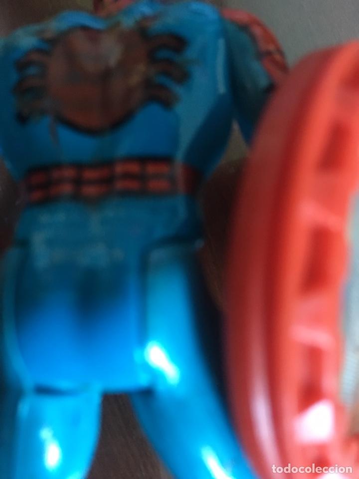 Figuras y Muñecos Secret Wars: SPIDERMAN CON ESCUDO SECRET WARS 1984 - Foto 3 - 181683715