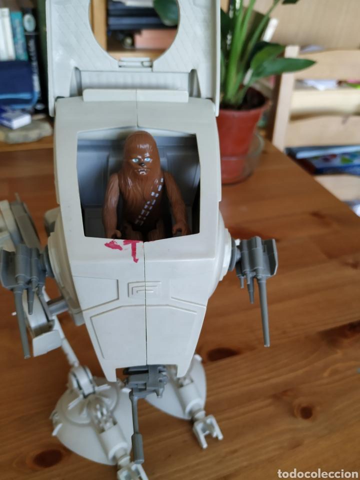 Figuras y Muñecos Secret Wars: Scout Walker Star Wars Kenner + Chewbacca - Foto 5 - 181871351