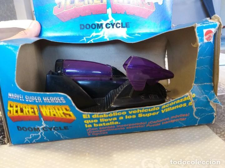 Figuras y Muñecos Secret Wars: marvel secret wars doom cycle en caja mattel marvel - Foto 2 - 186442155