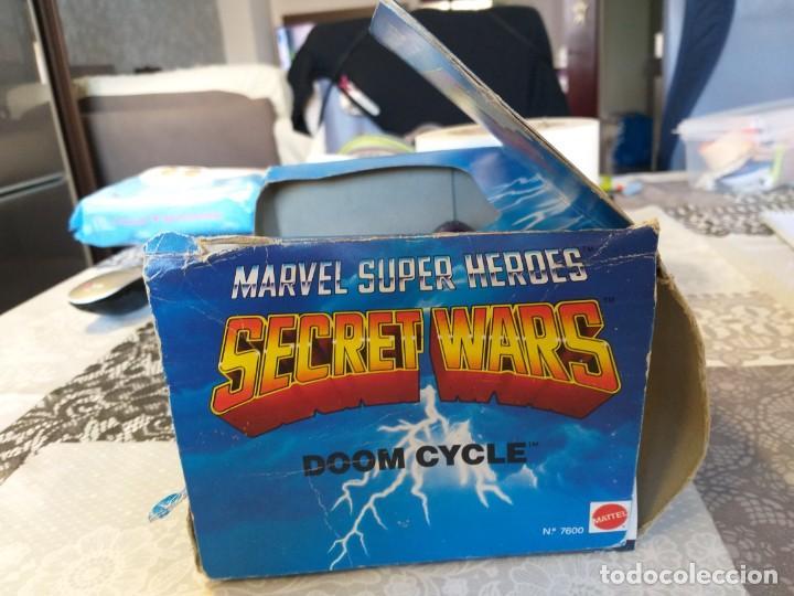 Figuras y Muñecos Secret Wars: marvel secret wars doom cycle en caja mattel marvel - Foto 3 - 186442155