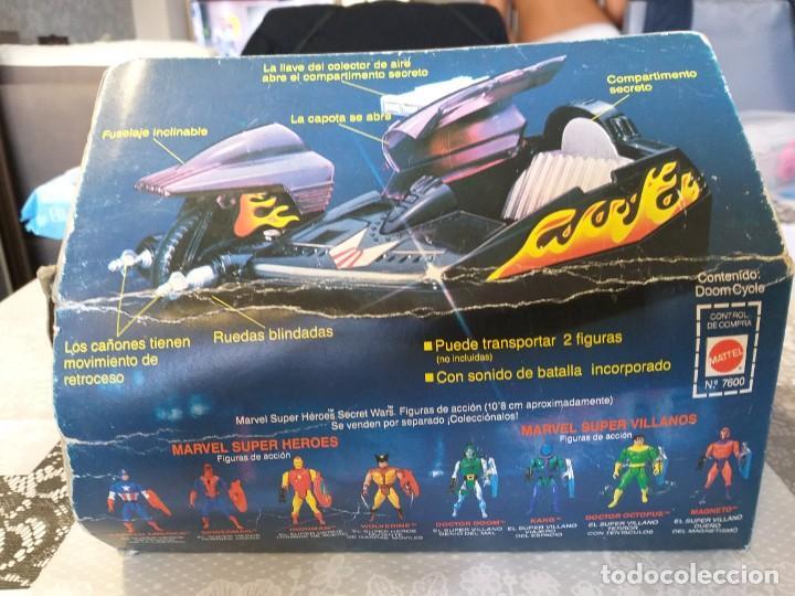 Figuras y Muñecos Secret Wars: marvel secret wars doom cycle en caja mattel marvel - Foto 4 - 186442155