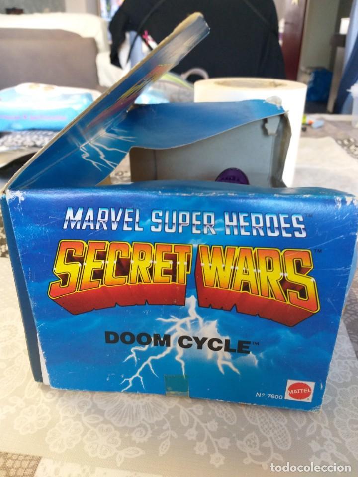 Figuras y Muñecos Secret Wars: marvel secret wars doom cycle en caja mattel marvel - Foto 5 - 186442155