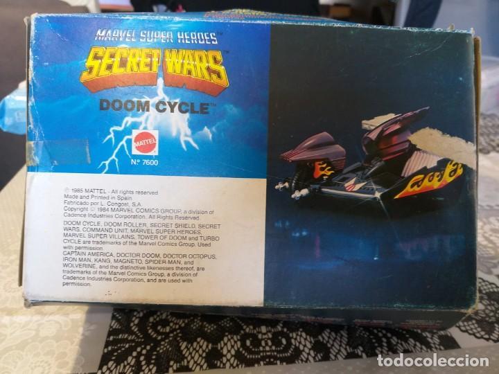 Figuras y Muñecos Secret Wars: marvel secret wars doom cycle en caja mattel marvel - Foto 6 - 186442155