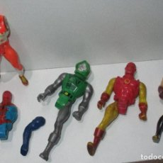 Figuras e Bonecos Secret Wars: DESPIECE FIGURAS SECRET WARS HALCÓN LOBEZNO DR DOOM IRON MAN SPIDERMAN CONSTRICTOR MATTEL 1984. Lote 187523353