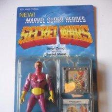 Figuras y Muñecos Secret Wars: MARVEL SECRET WARS BARON ZEMO EN BLISTER MATTEL 1984. Lote 195203686