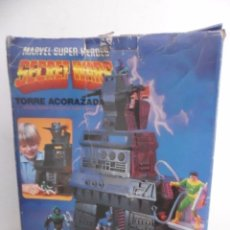 Figuras y Muñecos Secret Wars: MARVEL SUPER HEROES SECRET WARS TORRE ACORAZADA CON CAJA MATTEL 1984. Lote 195217270