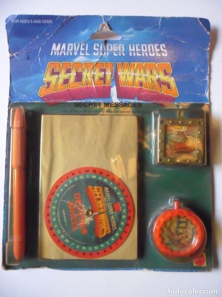 MARVEL SECRET WARS SECRET MESSAGES MATTEL 1984 (Juguetes - Figuras de Acción - Secret Wars)