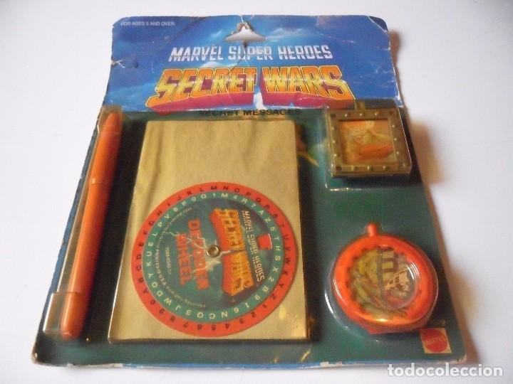 Figuras y Muñecos Secret Wars: MARVEL SECRET WARS SECRET MESSAGES MATTEL 1984 - Foto 4 - 195217631