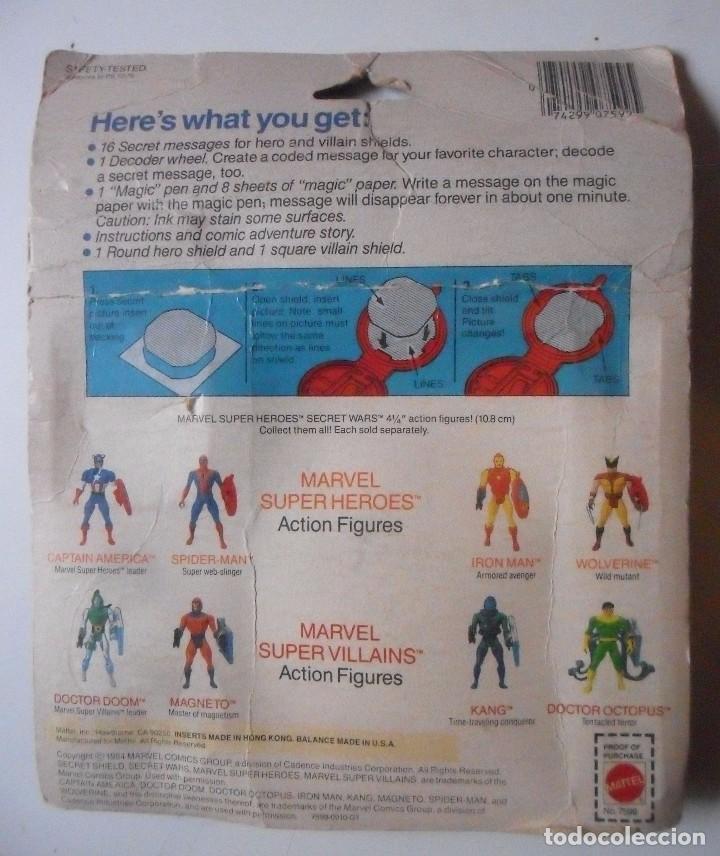 Figuras y Muñecos Secret Wars: MARVEL SECRET WARS SECRET MESSAGES MATTEL 1984 - Foto 9 - 195217631