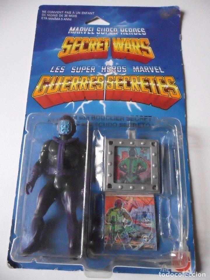 MARVEL SECRET WARS KANG EN BLISTER BILINGUE MATTEL 1984 (Juguetes - Figuras de Acción - Secret Wars)