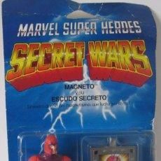 Figuras y Muñecos Secret Wars: MARVEL SUPER HEROES - SECRET WARS: MAGNETO Y SU ESCUDO SECRETO - REF: 7211 ***MATTEL***. Lote 197520406