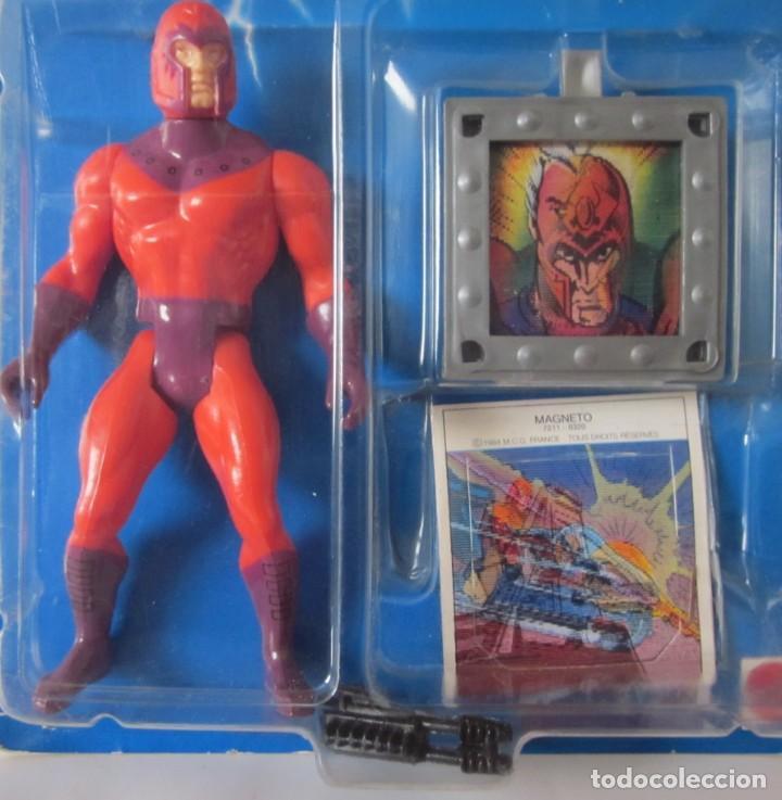 Figuras y Muñecos Secret Wars: MARVEL SUPER HEROES - SECRET WARS: MAGNETO Y SU ESCUDO SECRETO - REF: 7211 ***MATTEL*** - Foto 2 - 197520406