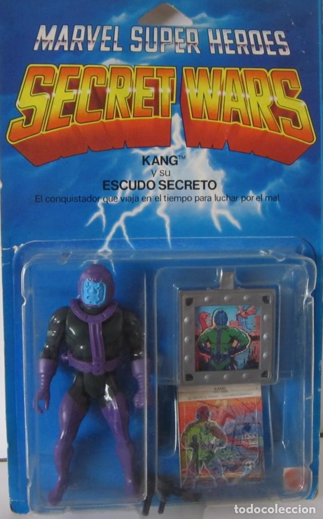 MARVEL SUPER HEROES - SECRET WARS: KANG Y SU ESCUDO SECRETO - REF: 7212 ***MATTEL*** (Juguetes - Figuras de Acción - Secret Wars)