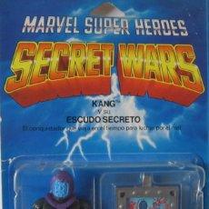 Figuras y Muñecos Secret Wars: MARVEL SUPER HEROES - SECRET WARS: KANG Y SU ESCUDO SECRETO - REF: 7212 ***MATTEL***. Lote 197520698