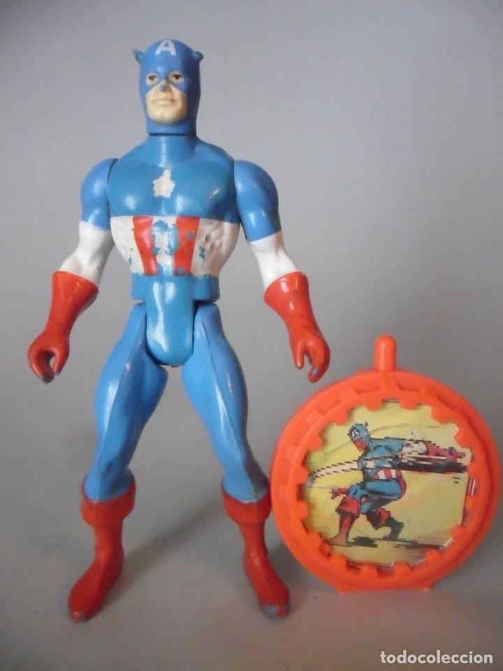 MARVEL SECRET WARS CAPITAN AMERICA MATTEL FRANCE 1984 (Juguetes - Figuras de Acción - Secret Wars)