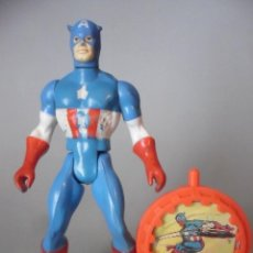 Figuras y Muñecos Secret Wars: MARVEL SECRET WARS CAPITAN AMERICA MATTEL FRANCE 1984. Lote 198646622