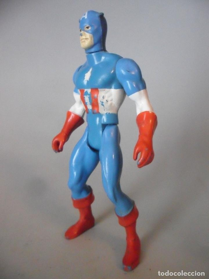 Figuras y Muñecos Secret Wars: MARVEL SECRET WARS CAPITAN AMERICA MATTEL FRANCE 1984 - Foto 3 - 198646622