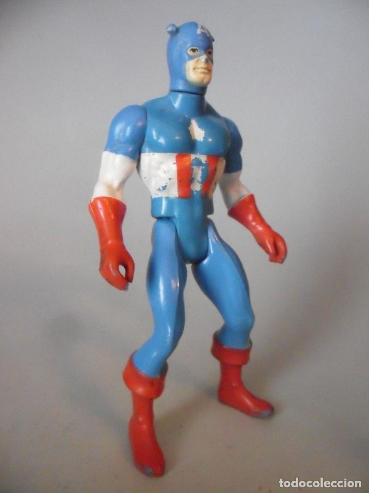 Figuras y Muñecos Secret Wars: MARVEL SECRET WARS CAPITAN AMERICA MATTEL FRANCE 1984 - Foto 4 - 198646622
