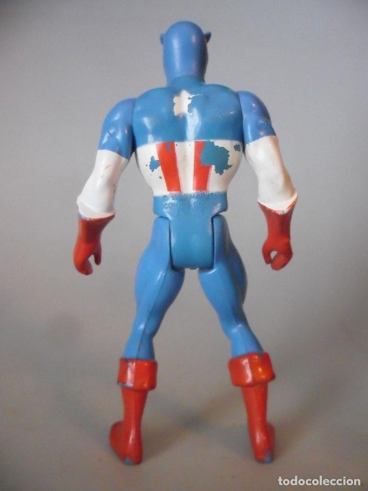 Figuras y Muñecos Secret Wars: MARVEL SECRET WARS CAPITAN AMERICA MATTEL FRANCE 1984 - Foto 5 - 198646622
