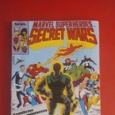 Figuras y Muñecos Secret Wars: ANTIGUO COMIC TEBEO TBO RETAPADO SECRET WARS PRESENTADO EN CINCO COMICS DEL NÚMERO 11 AL 15 AÑOS 80. Lote 204643092