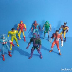 Figurines et Jouets Secret Wars: LOTE DE 8 SECRET WARS. MATTEL.. Lote 206295557