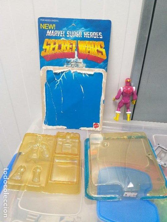 Figuras y Muñecos Secret Wars: figura de accion baron zemo secret wars blister americano con burbuja y escudo marvel - Foto 6 - 206824256