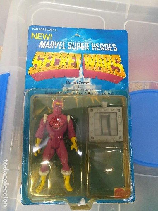 Figuras y Muñecos Secret Wars: figura de accion baron zemo secret wars blister americano con burbuja y escudo marvel - Foto 11 - 206824256